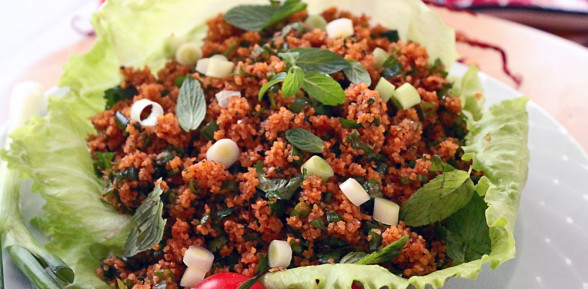 Kisir (Bulgur Salad – Turkish Tabbouleh)
